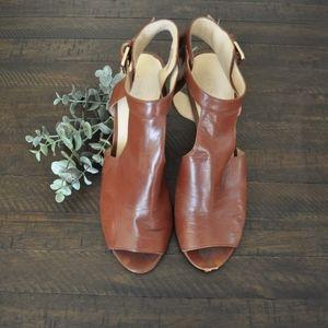 Nine West Faux Leather Heels